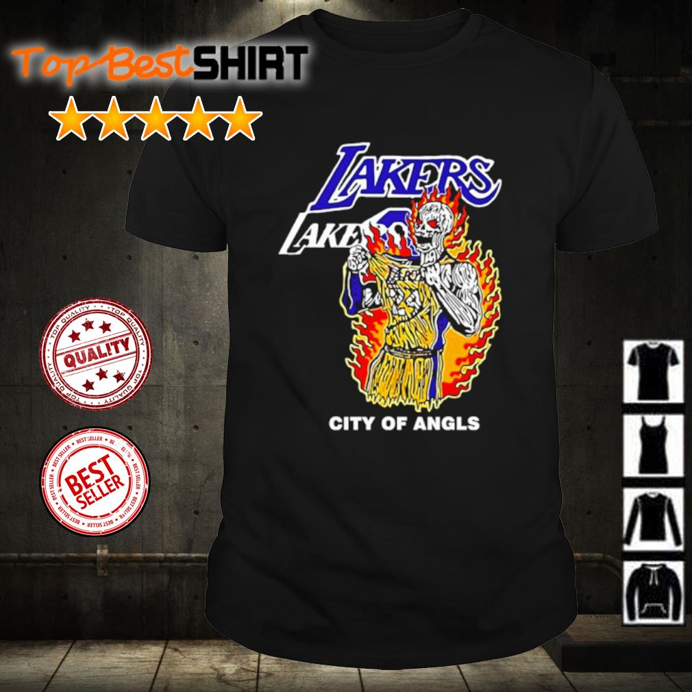 Warren Lotas Lakers City Of Angels Kobe Bryant shirt