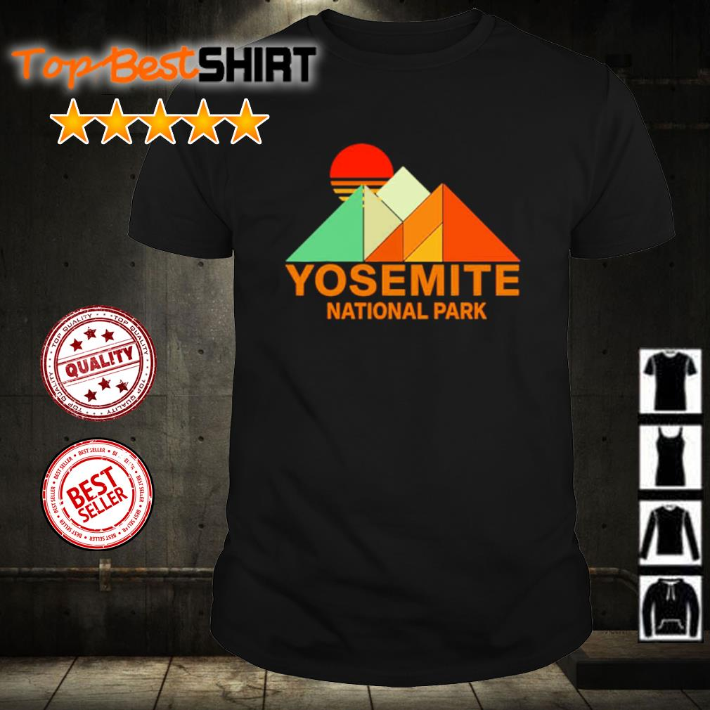 Yosemit national park shirt