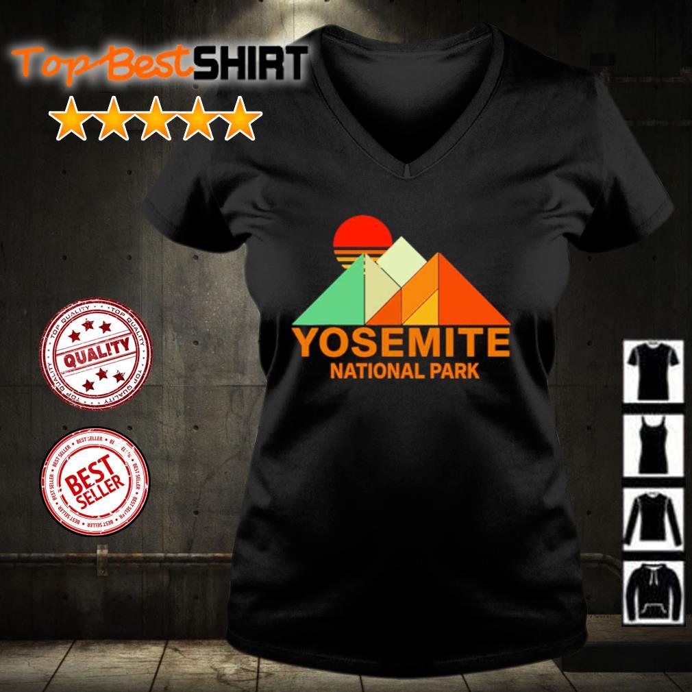 Yosemit national park s v-neck-t-shirt
