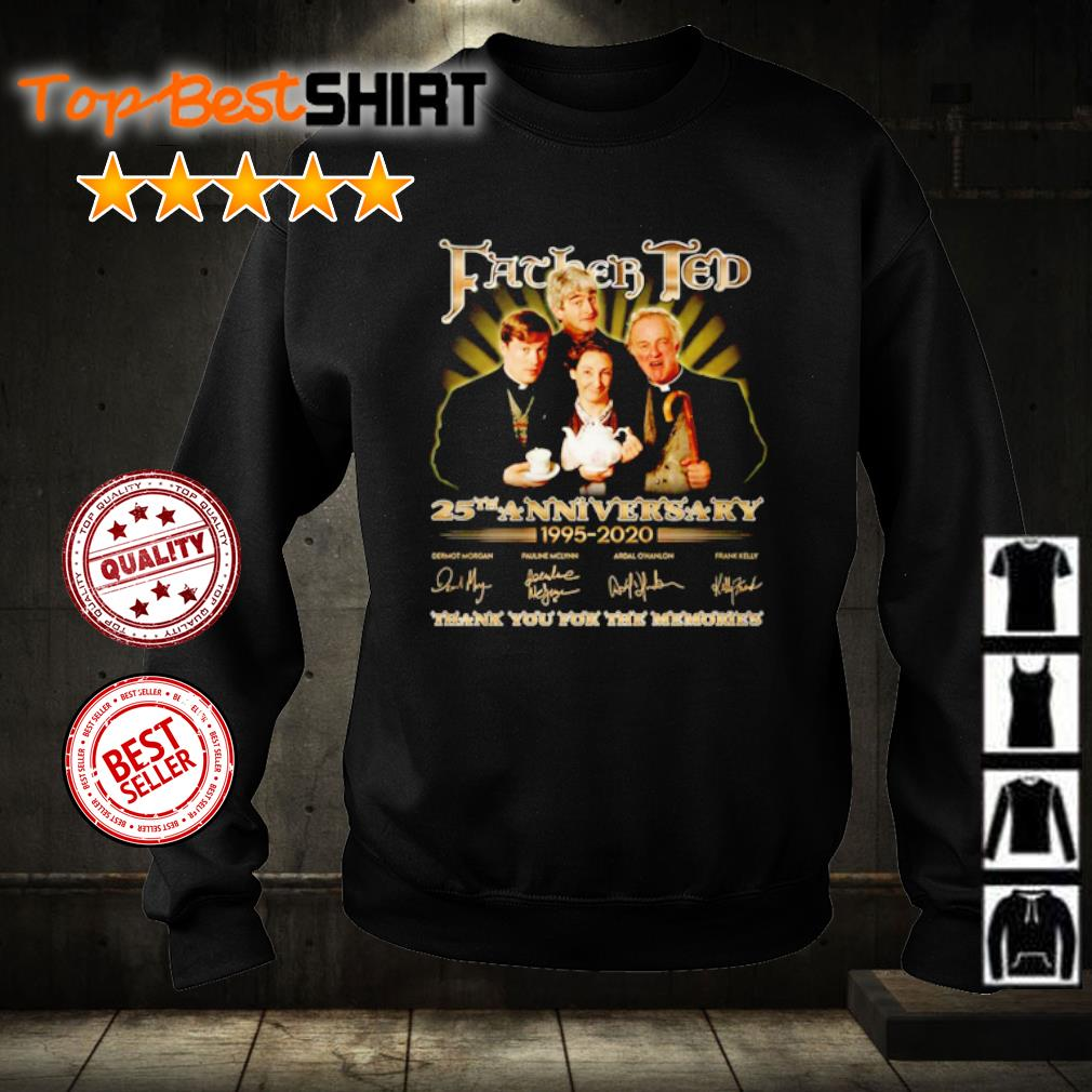 Father Ted 25th anniversary 1995 2020 thank you for the memories s sweater