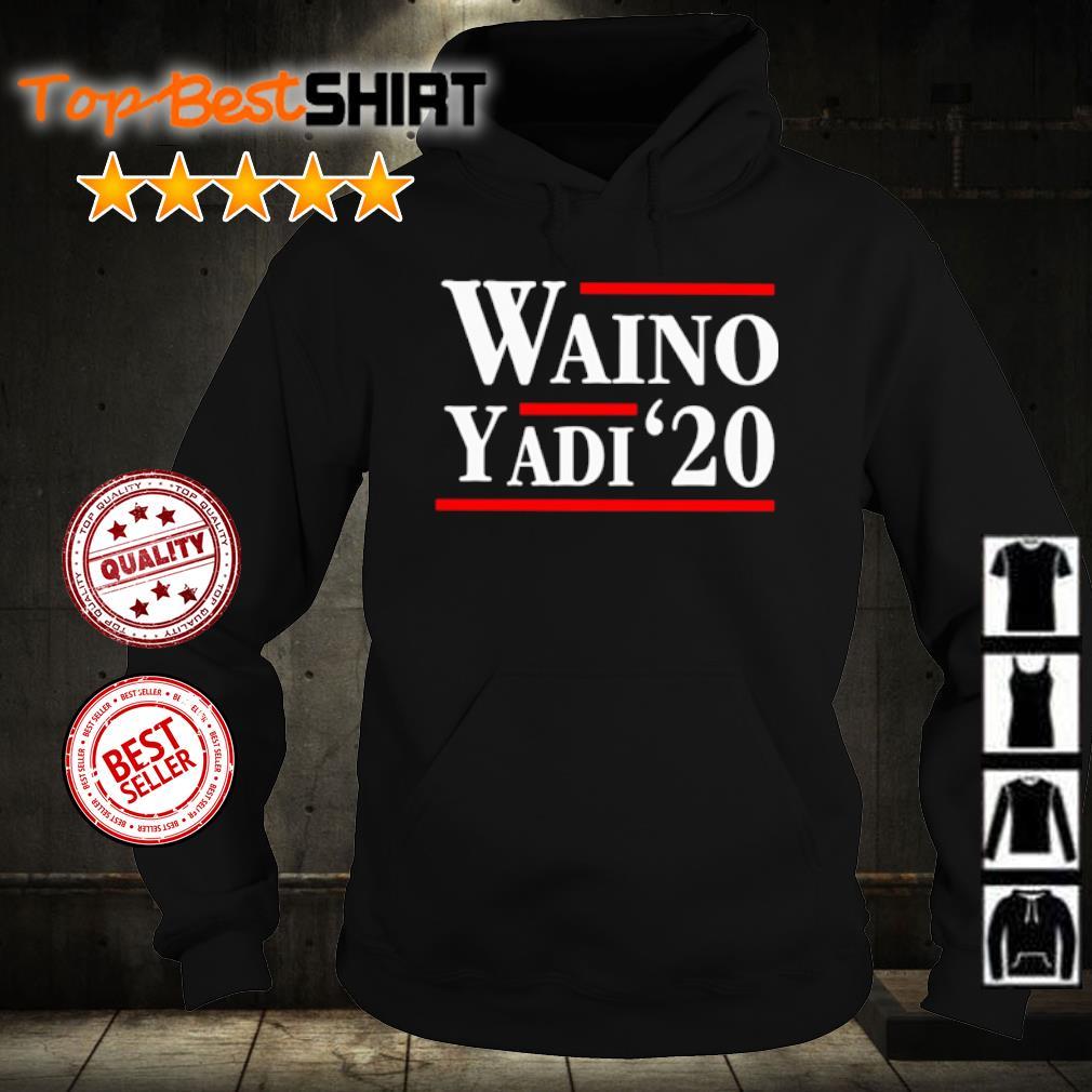 Official Waino Yadi 2020 s hoodie