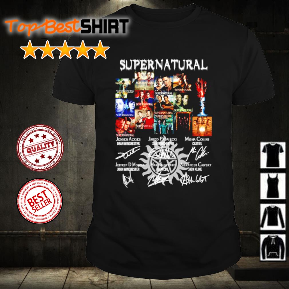 Supernatural thank you for the memories shirt