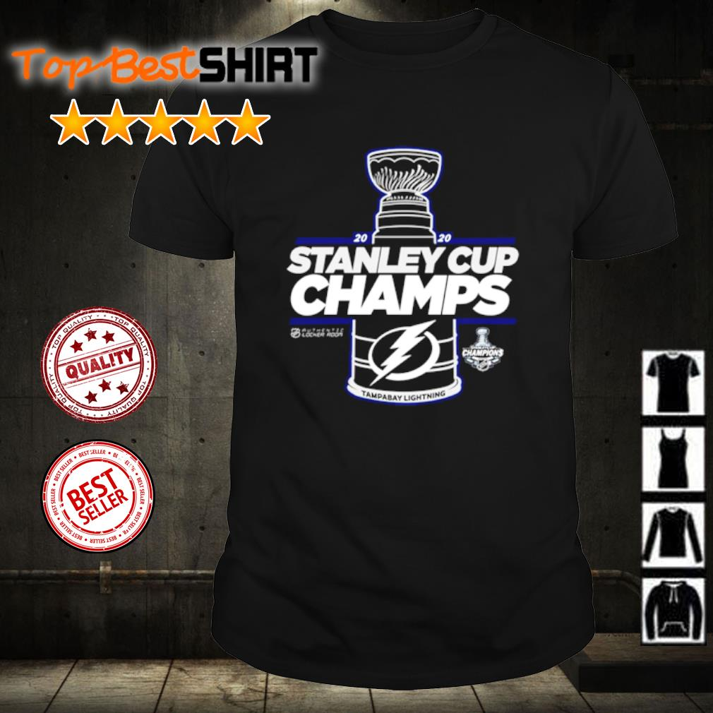 Tampa Bay Lightning 2020 Stanley Cup Champions shirt