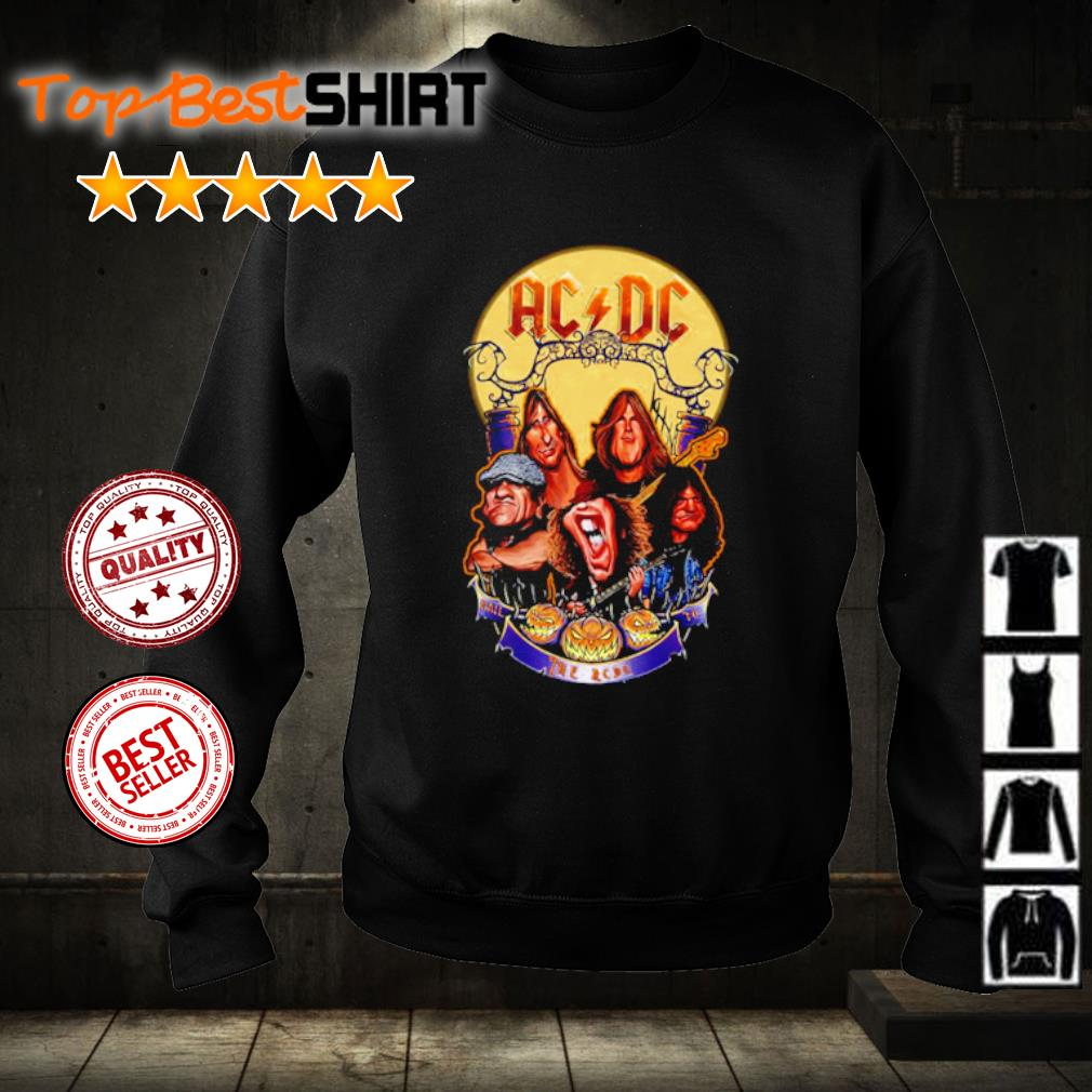 The Ac Dc Band Happy Halloween s sweater