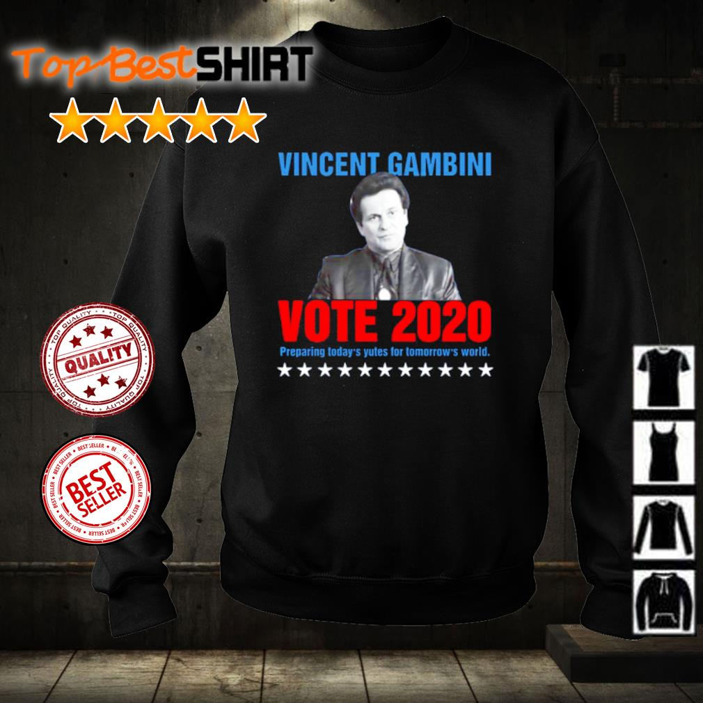 Vincent Gambini Vote 2020 preparing today's yutes for tomorrow's world s sweater