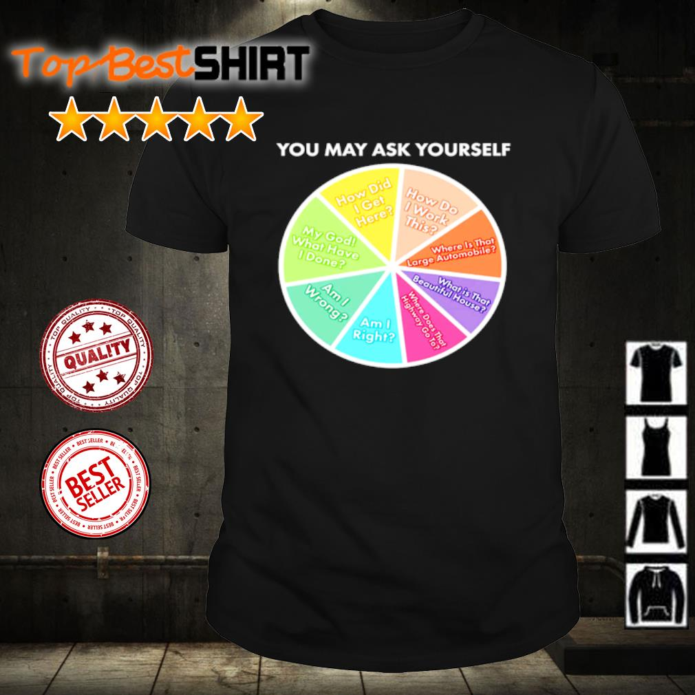 You may ask yourself shirt