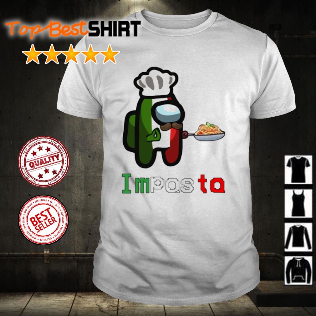 Among Us Impasta Impostor Italia shirt