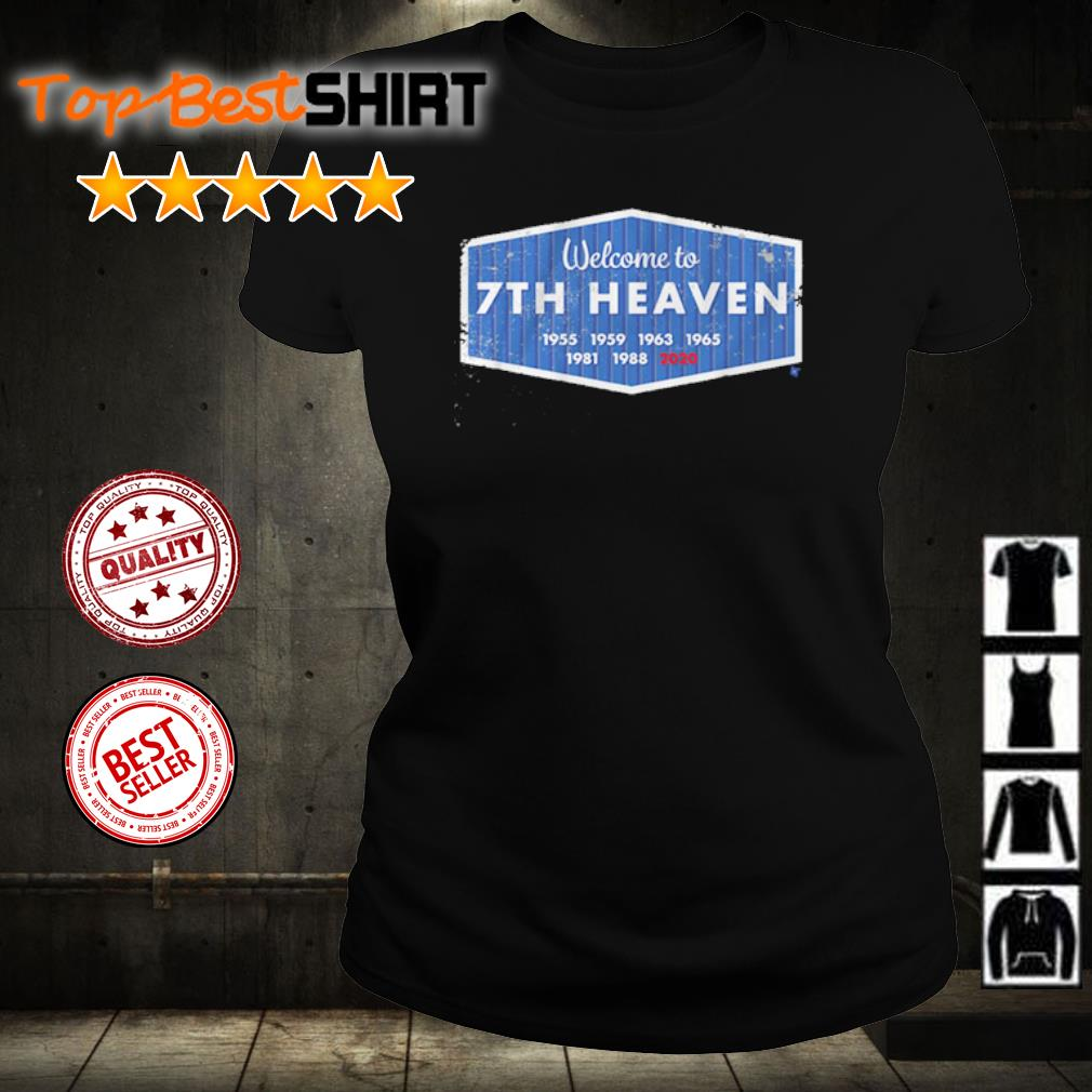 Welcome to 7th heaven 2020 s ladies-tee