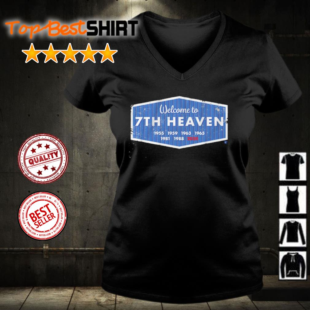 Welcome to 7th heaven 2020 s v-neck-t-shirt
