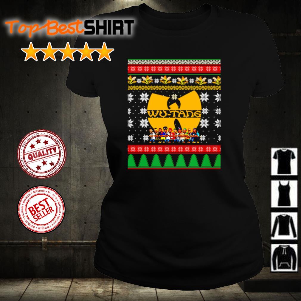 Wu Tang Christmas s ladies-tee