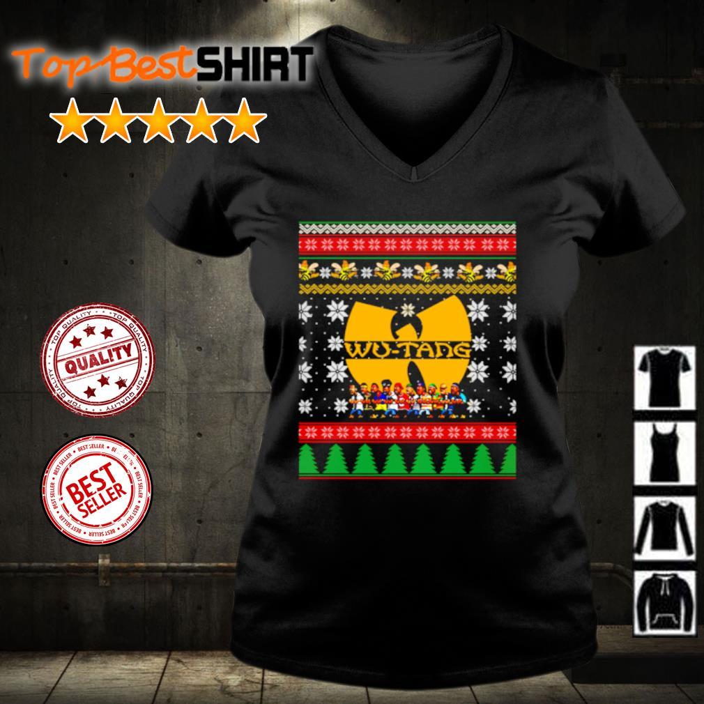 Wu Tang Christmas s v-neck-t-shirt