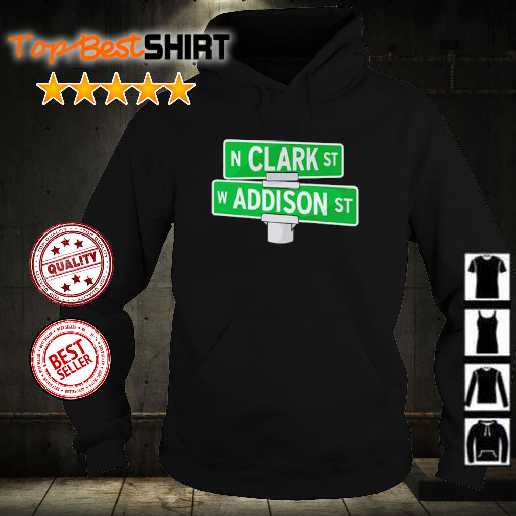 Addison and Clark street Chicago s hoodie