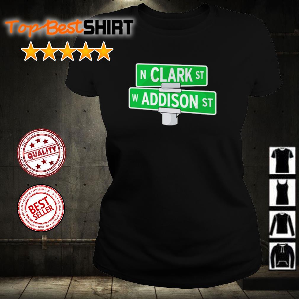Addison and Clark street Chicago s ladies-tee