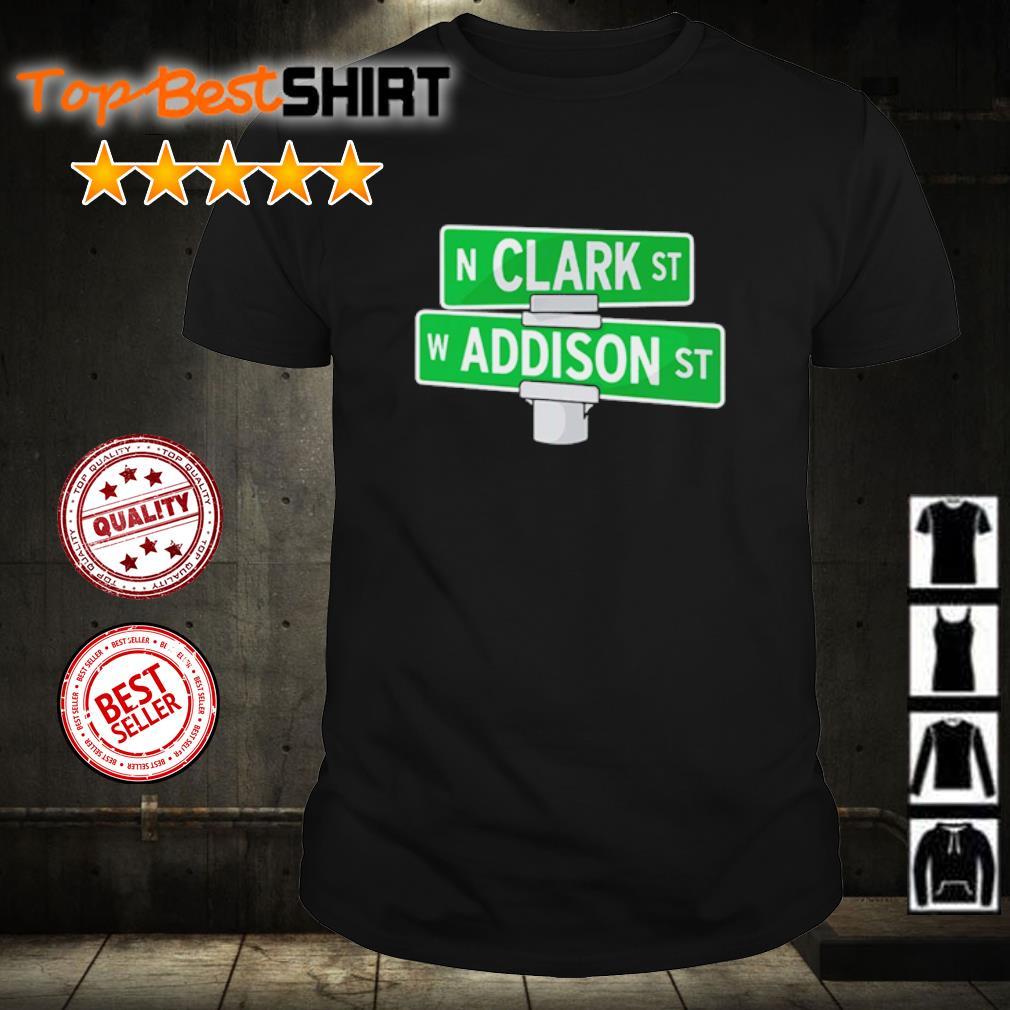 Addison and Clark street Chicago shirt