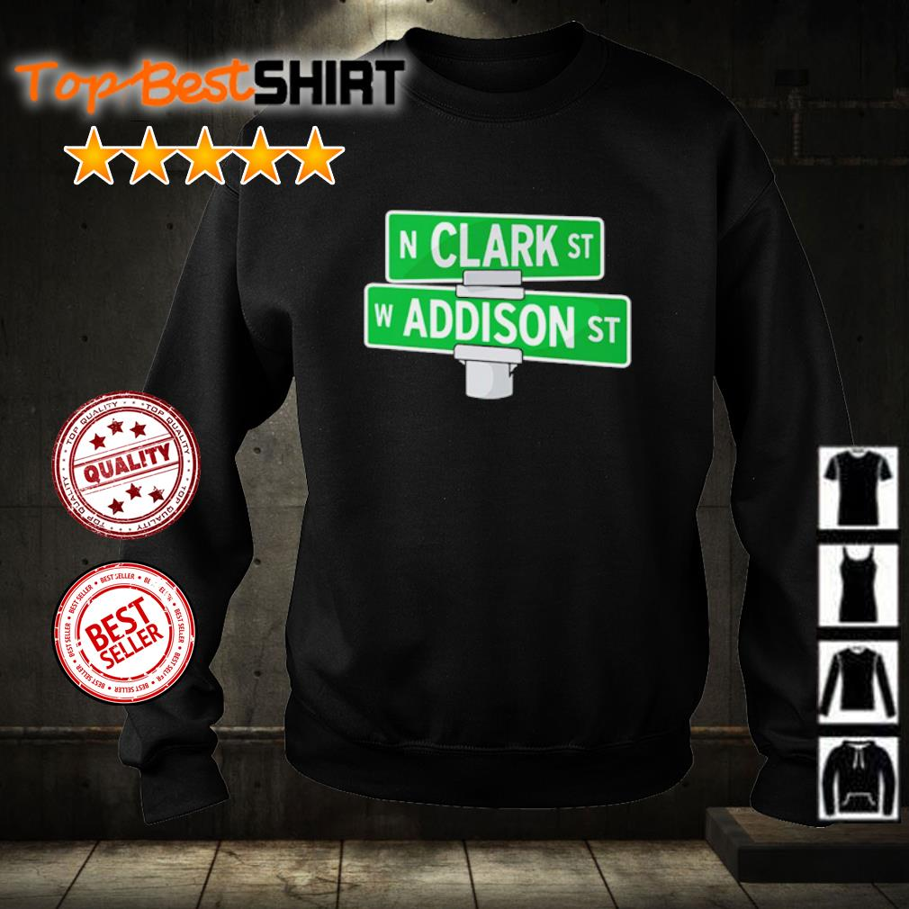 Addison and Clark street Chicago s sweater