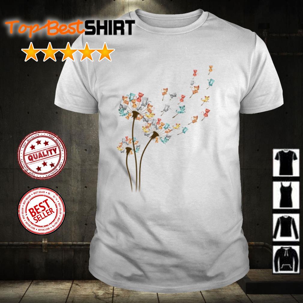 Cats Dandelion shirt