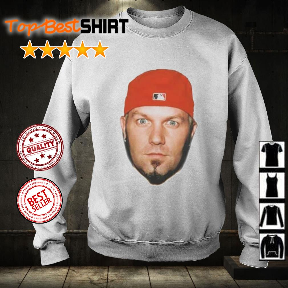 Face Fred Durst s sweater