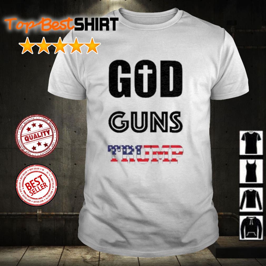 God Guns Trump shirt