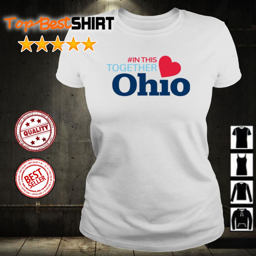 #In This Together Ohio s ladies-tee