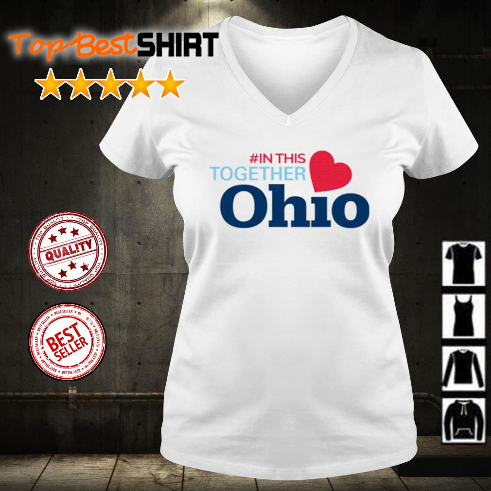 #In This Together Ohio s v-neck-t-shirt