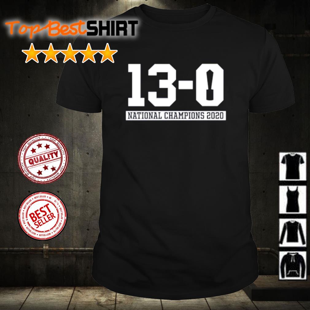 13-0 Alabama National Champions 2021 shirt