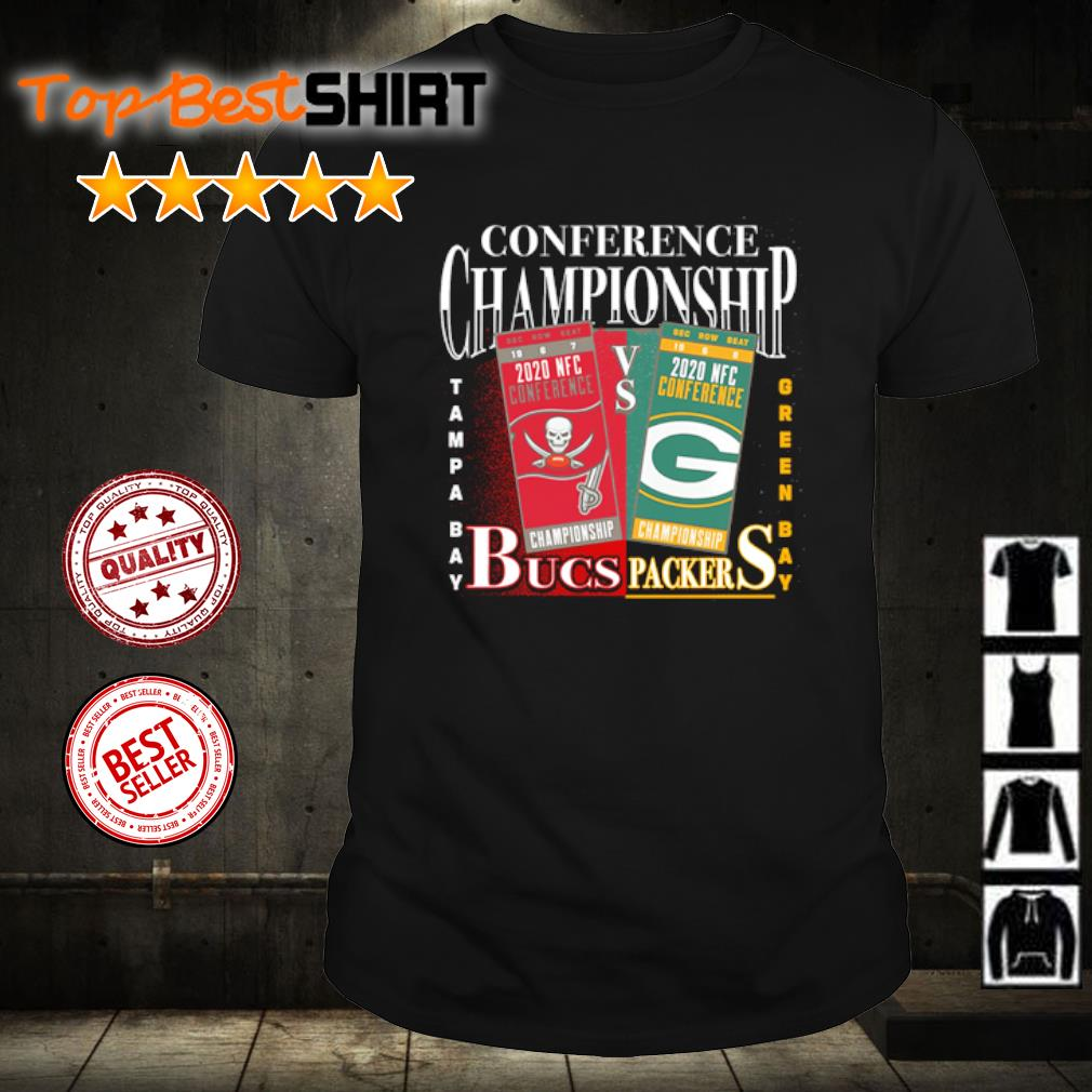 2020 AFC Conference Championship Green Bay Packers vs. Tampa Bay Buccaneers shirt