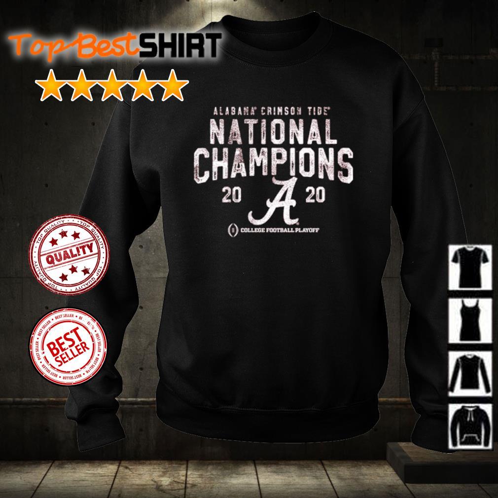 Alabama Crimson Tide National Champions 2020 College football playoff s sweater
