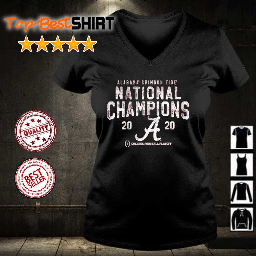 Alabama Crimson Tide National Champions 2020 College football playoff s v-neck-t-shirt