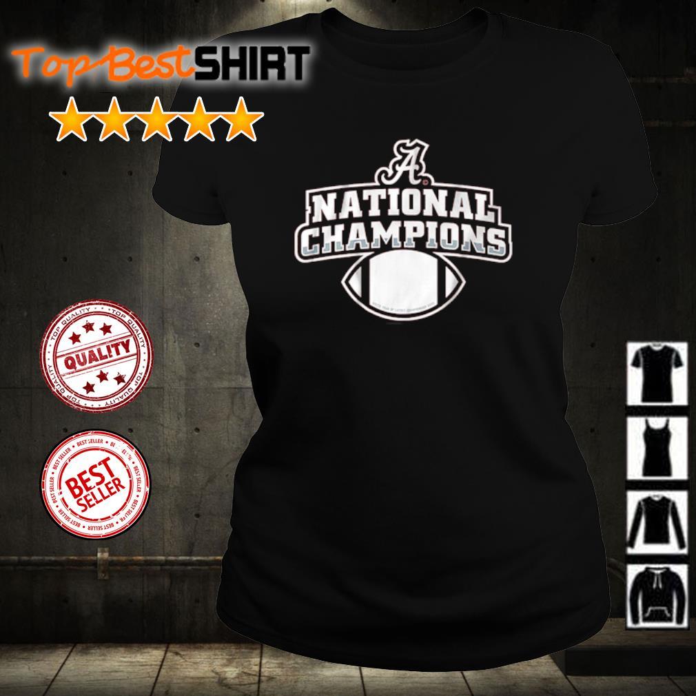 Alabama National Champions s ladies-tee