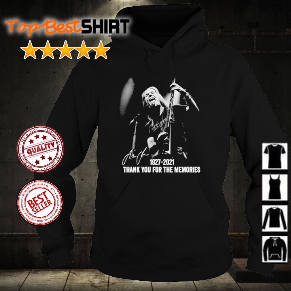 Alexi Laiho 1927 2021 thank you for the memories s hoodie
