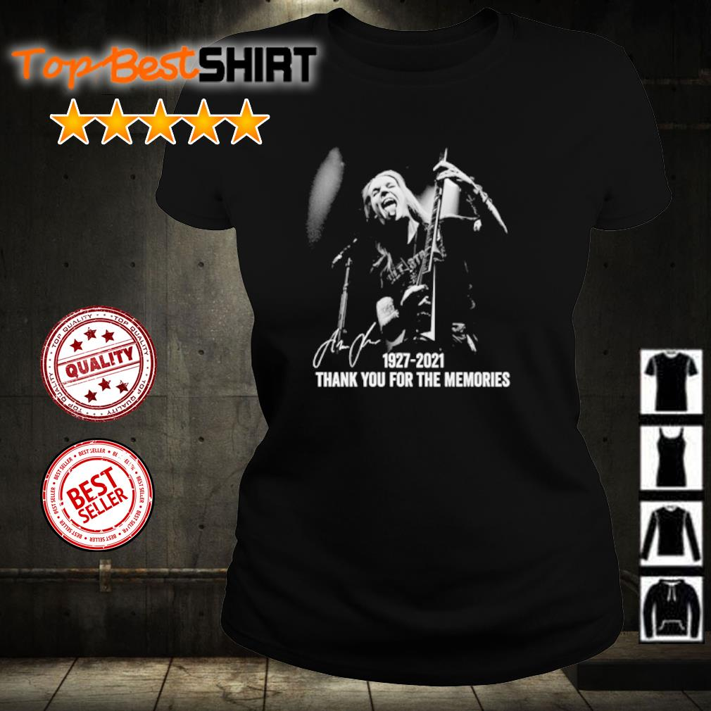 Alexi Laiho 1927 2021 thank you for the memories s ladies-tee