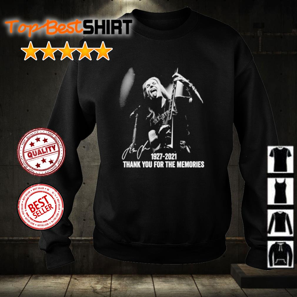 Alexi Laiho 1927 2021 thank you for the memories s sweater