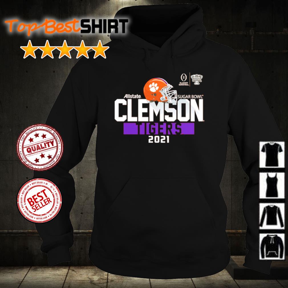 Clemson Tigers College Football Playoff 2021 Sugar Bowl Bound Backfield s hoodie