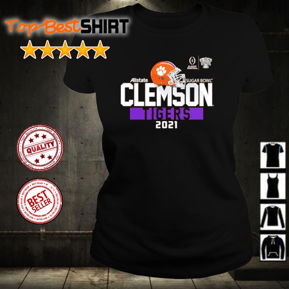Clemson Tigers College Football Playoff 2021 Sugar Bowl Bound Backfield s ladies-tee