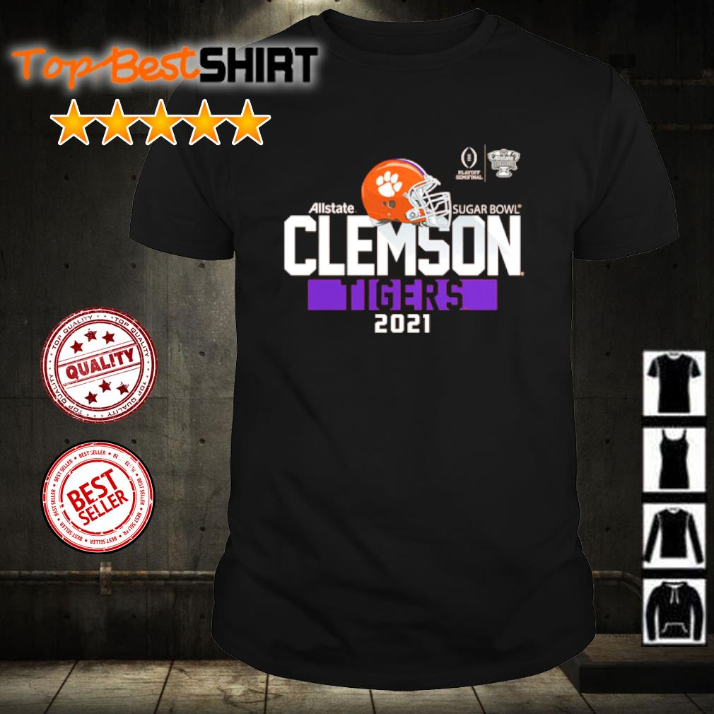 Clemson Tigers College Football Playoff 2021 Sugar Bowl Bound Backfield shirt