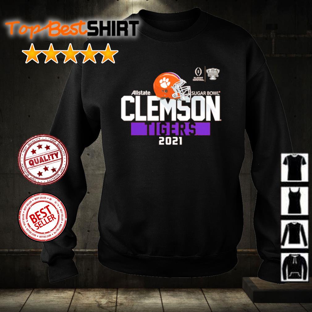 Clemson Tigers College Football Playoff 2021 Sugar Bowl Bound Backfield s sweater
