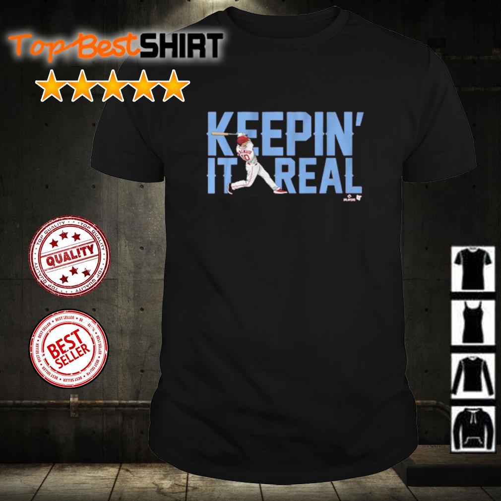 J. T. Realmuto Keepin' it real shirt