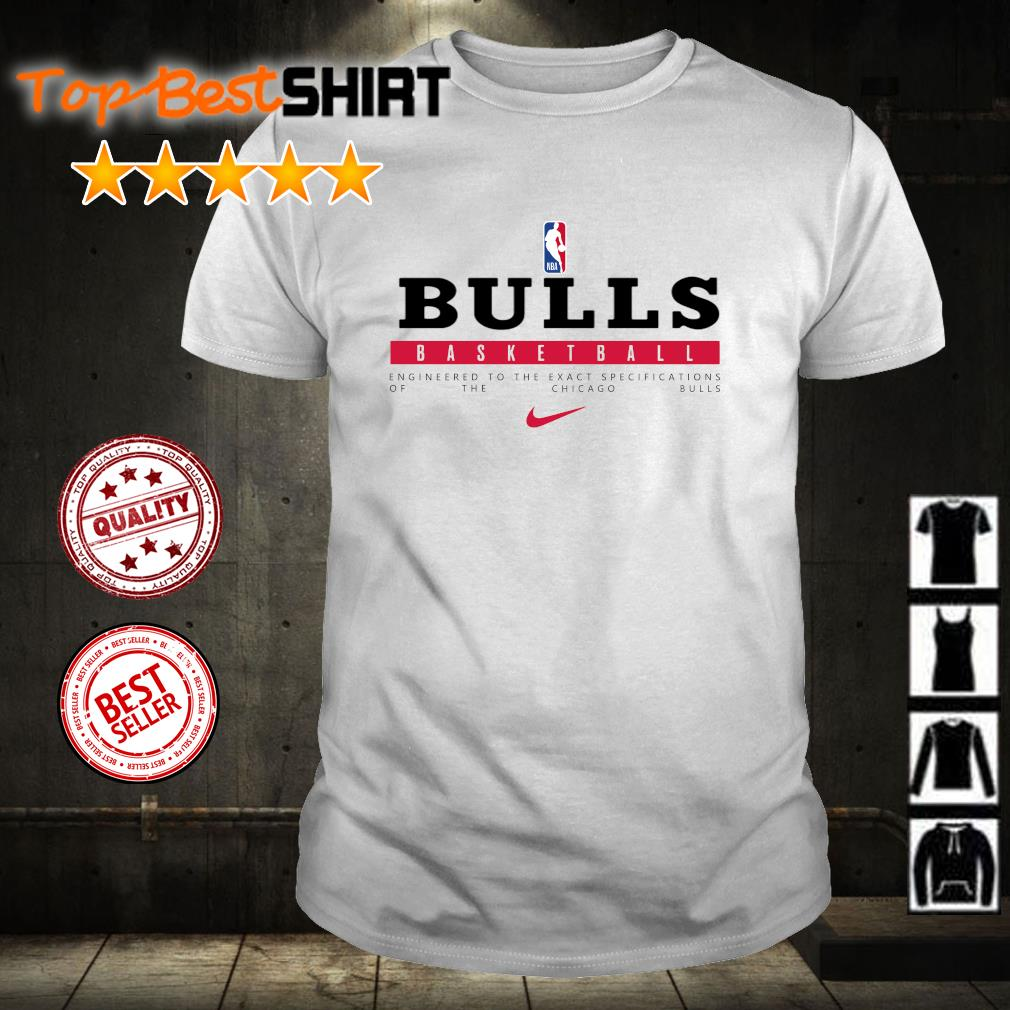 NBA Basketball Engineered to the exact specifications of the Chicago Bulls shirt
